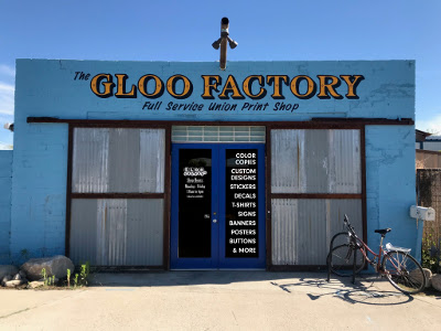 The Gloo Factory store front